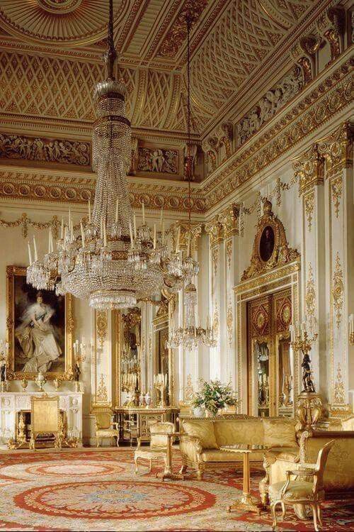 White Drawing Room, Buckingham Palace   As Remodelled By John Nash 1826