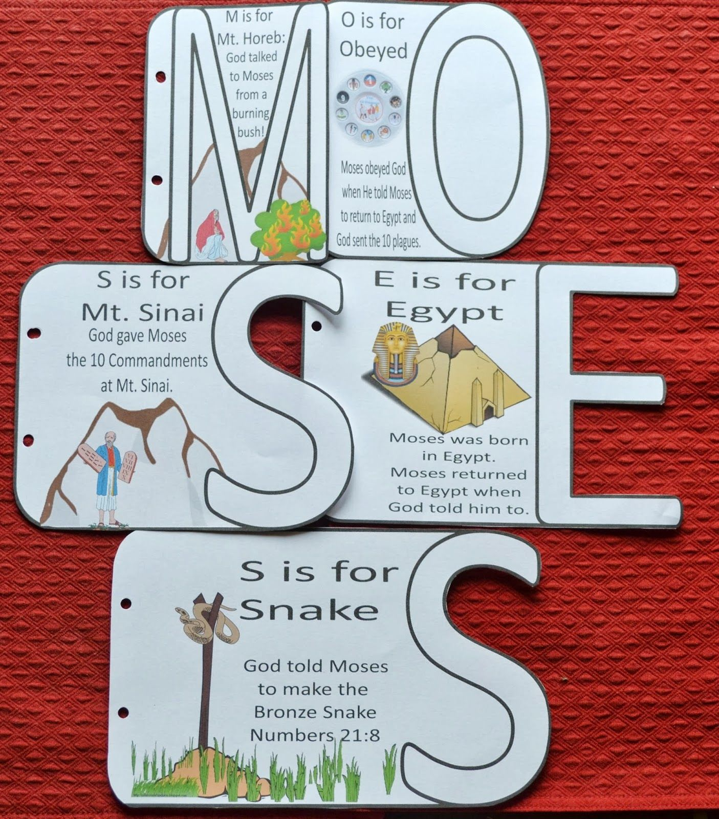 Baby Moses Craft Projects | There are several choices. The first one ...