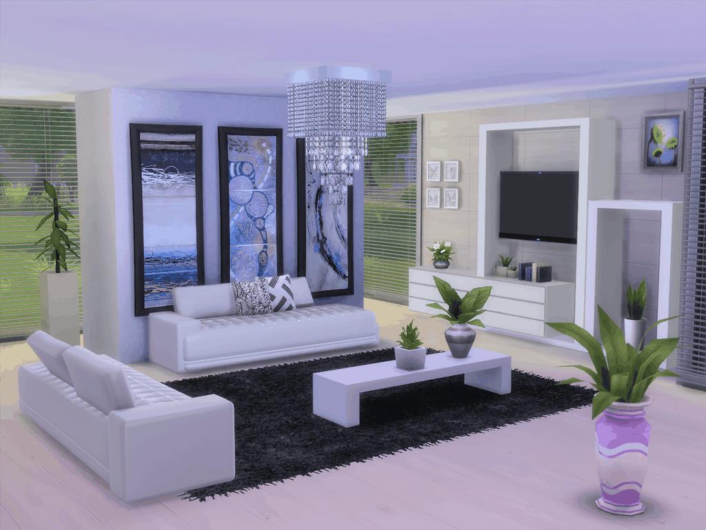 Salon sims 20  Sims house, Living room sims 20, Sims 20 cc furniture