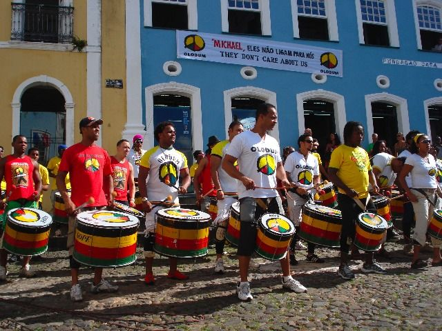 Olodum at Pelourinho (Salvador de Bahía)... http://brazilianpercussion.blogspot.com/2014/01/olodum-at-pelourinho-salvador-de-bahia.html