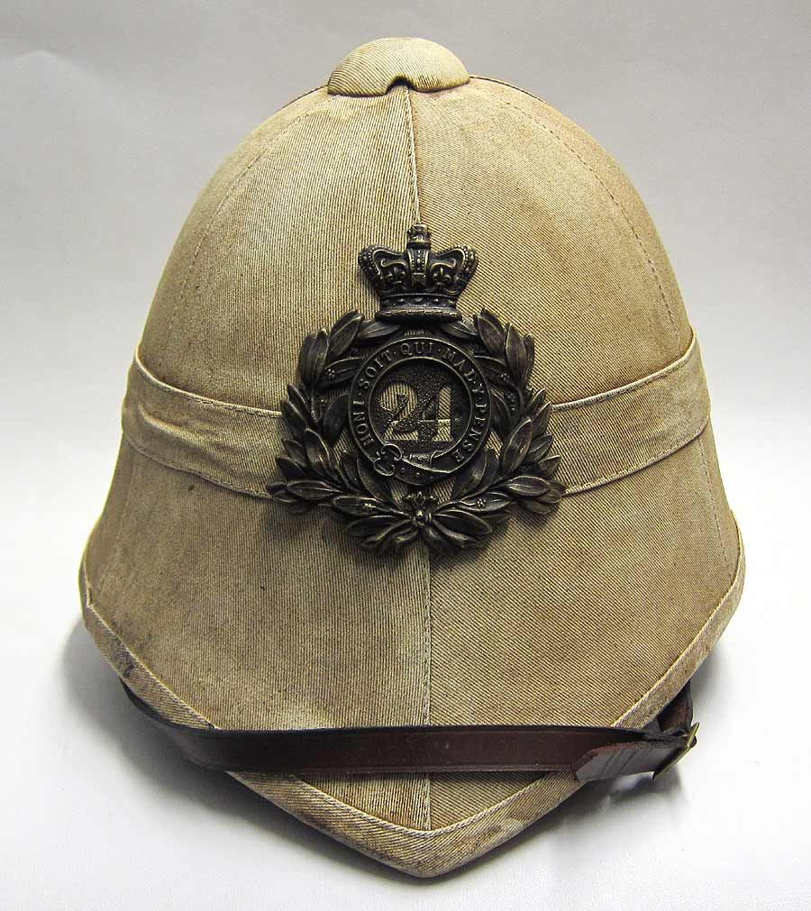 a74c6ed34019a This reproduction Zulu war Foreign Service helmet has been made to ...