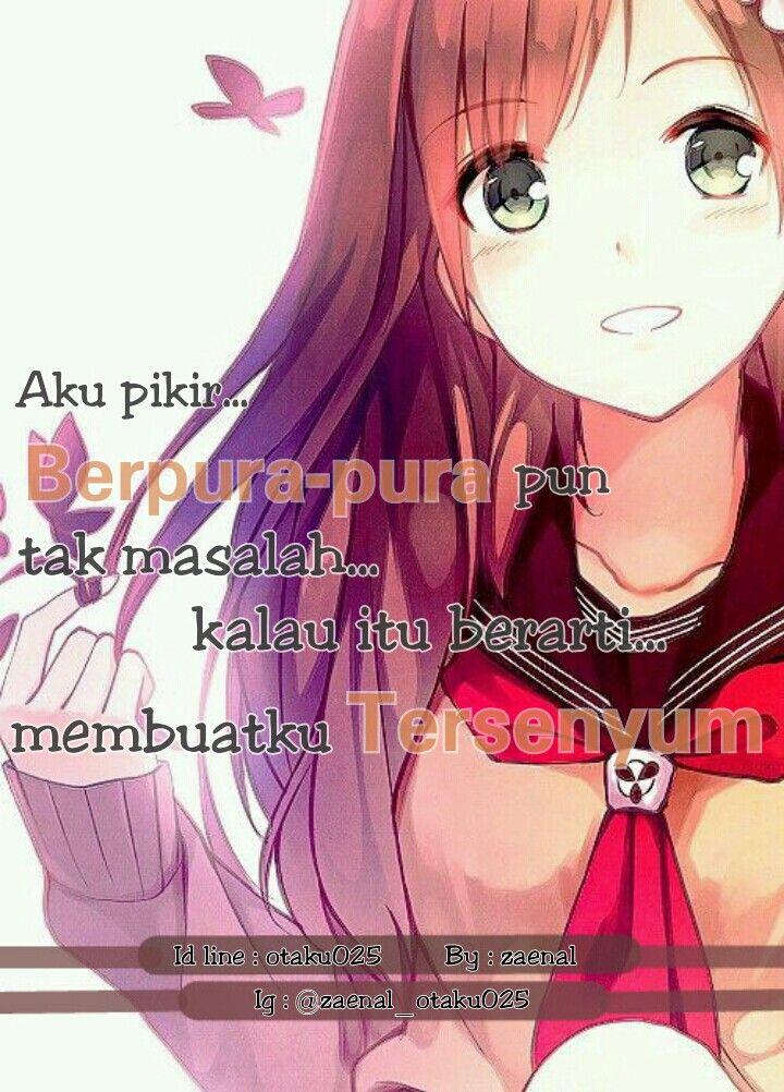 Pin oleh Zenzen Gremory di Anime Quotes Indonesia Lucu
