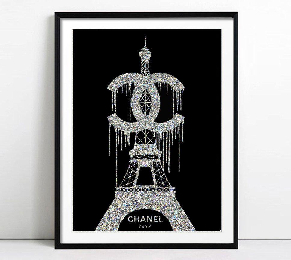 Coco Chanel Art Chanel Print Fashion Illustration Fashion Print Fashion Art Fashion Poster