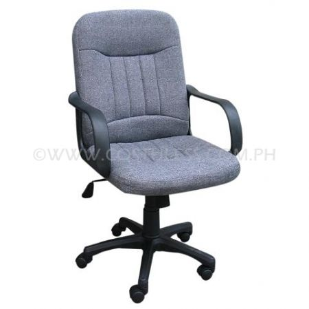 Product Code: MBC-102GRY  Sale Price:P2 798.00  FABRIC Features: OFFICE CHAIR GRAY FABRIC RECLINING MID BACK  Brand: ERGODYNAMIC