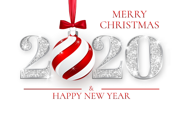 Merry Christmas and Happy New Year 2020 Images Wishes