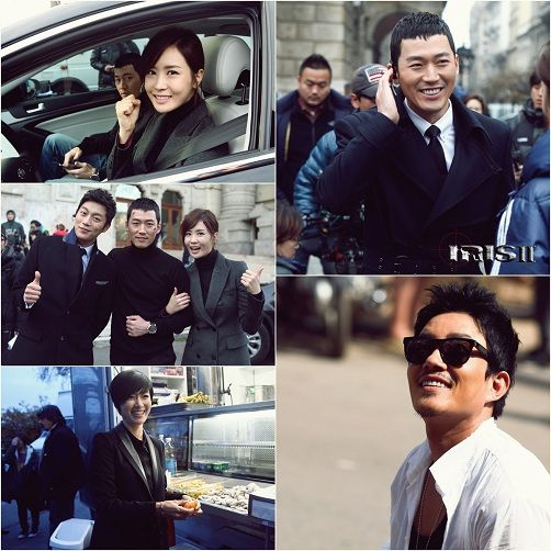 IRIS 2′ cast show off their teamwork in another set of still cuts