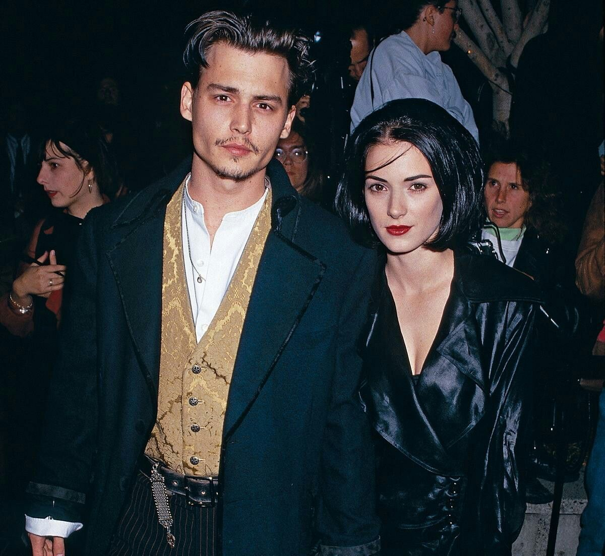 Winona Ryder and Johnny Depp were Hollywood sweethearts in the early 90s.