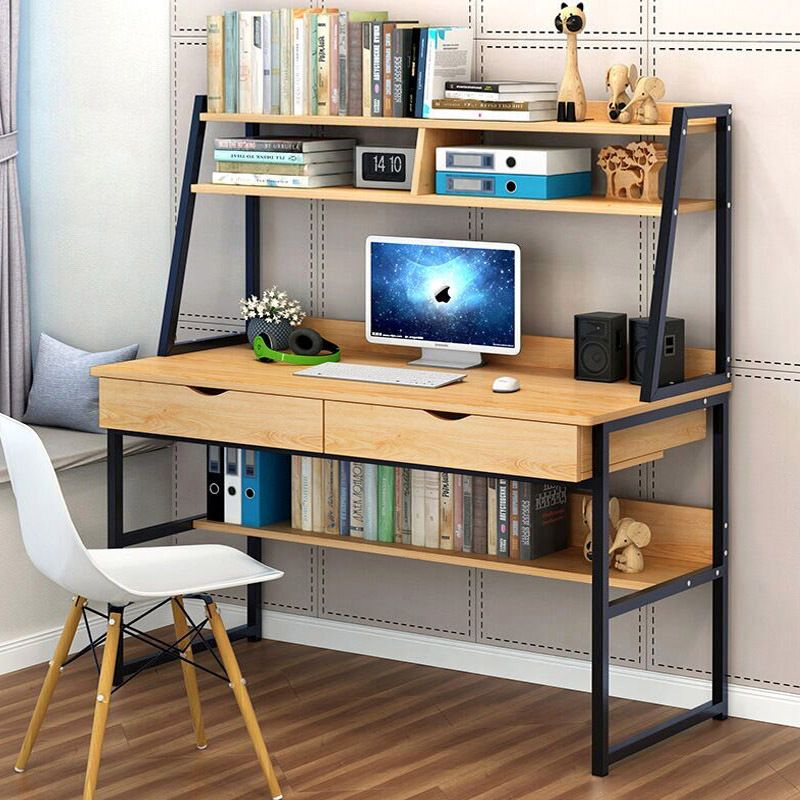 Computer Desk Table +Shelf & Drawer Office Study S