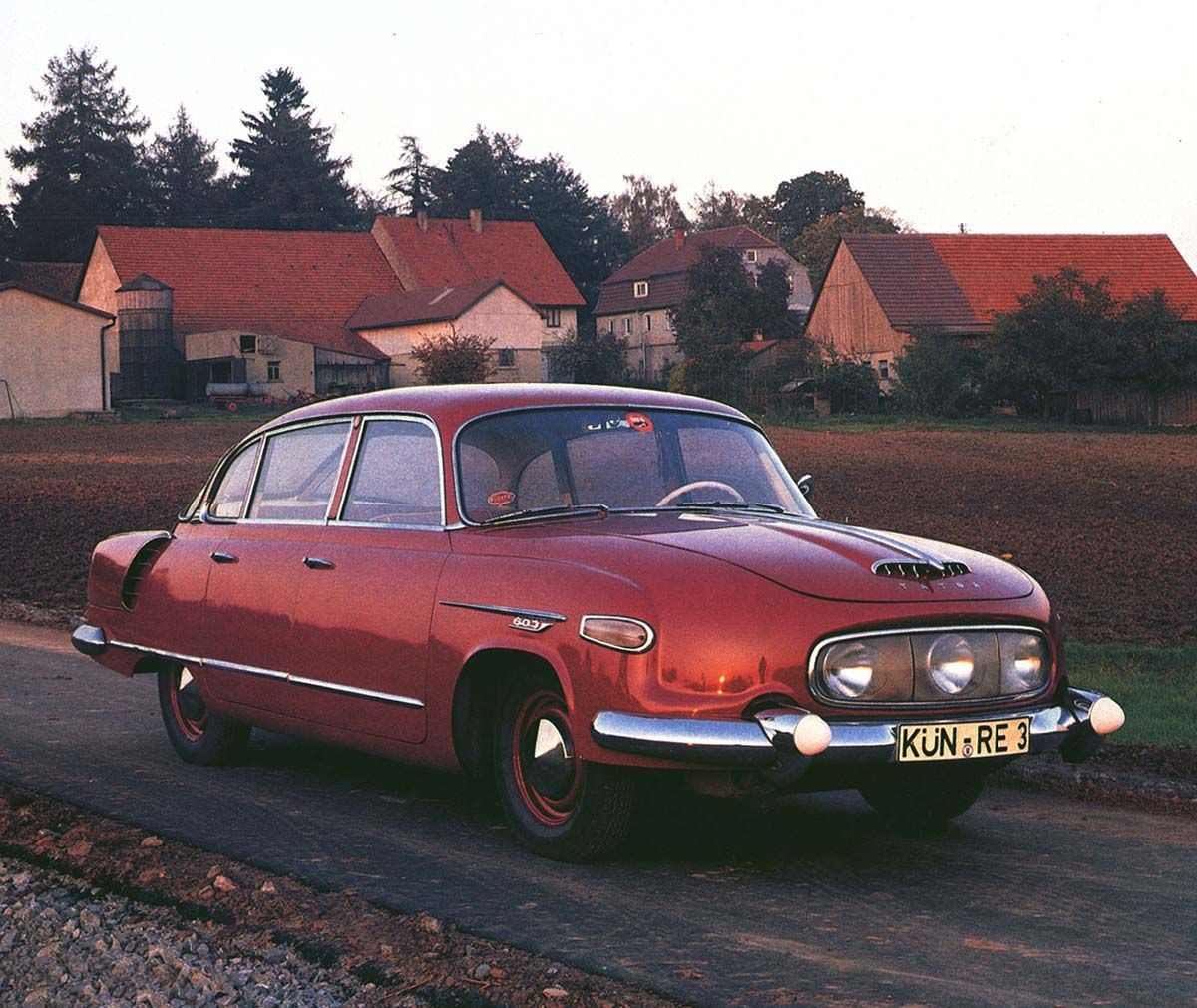 This 1958 Czechoslovakian model was not a very common car in the Eastern block, nor it was a Communist answer to any best-selling Western vehicle. The Tatra 603 was such a rarity on the streets, that ordinary people were considered lucky to even see one.