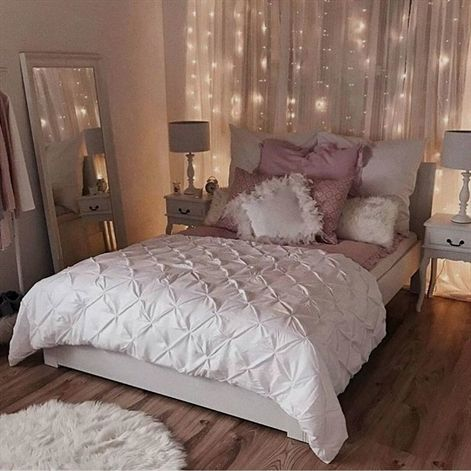 Romantic Bedroom Inspiration Sophisticated White And Pink Bedroom