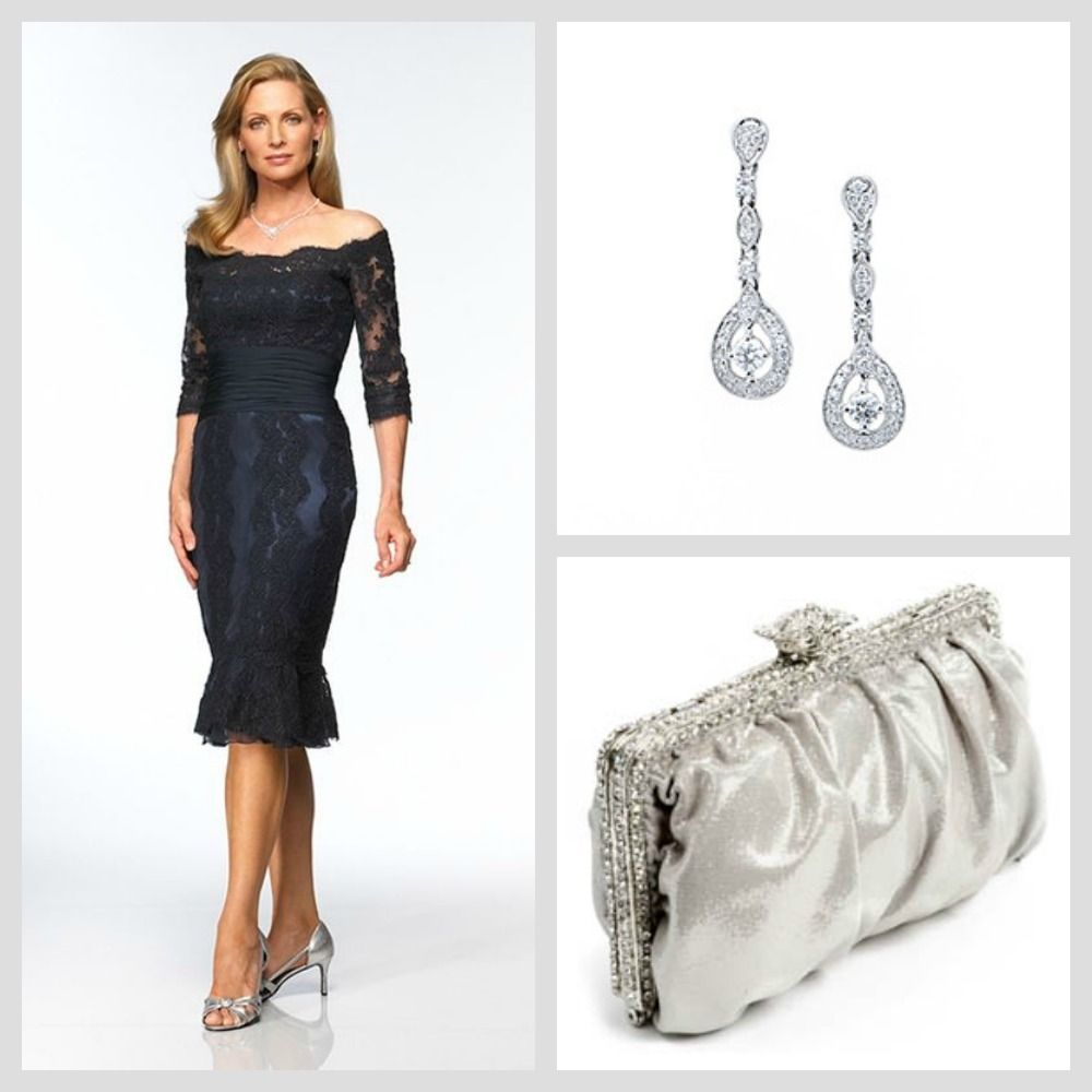 Mother Of The Bride Jewelry: The Whittaker Earrings And Clara Clutch From Adorn.com