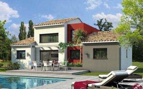Maison contemporaine Agate - plan maison gratuit Maison