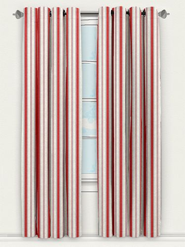 For A Bright Flash Of Colour There Are Few More Accomplished Curtains Than This Bandera Stripe