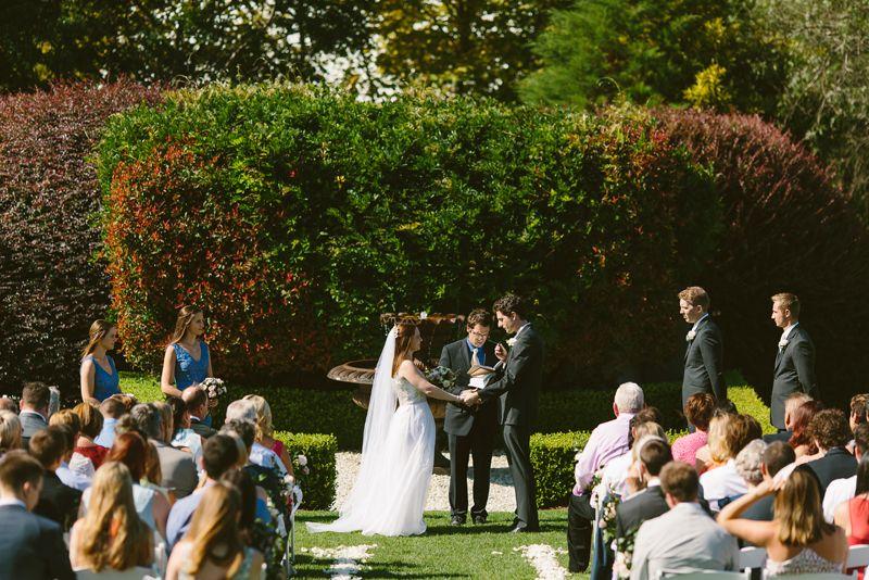 Bells At Killcare Wedding Garden Ceremony Image Cavanagh Photography