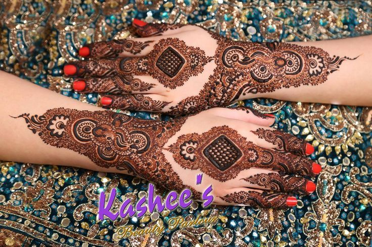 Mehndi Hairstyles S : Stylish mehndi designs collection  by kashee artist salon