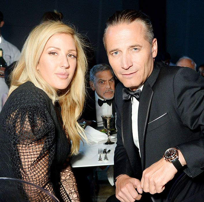 George Clooney photobombs Ellie Goulding at star-studded event