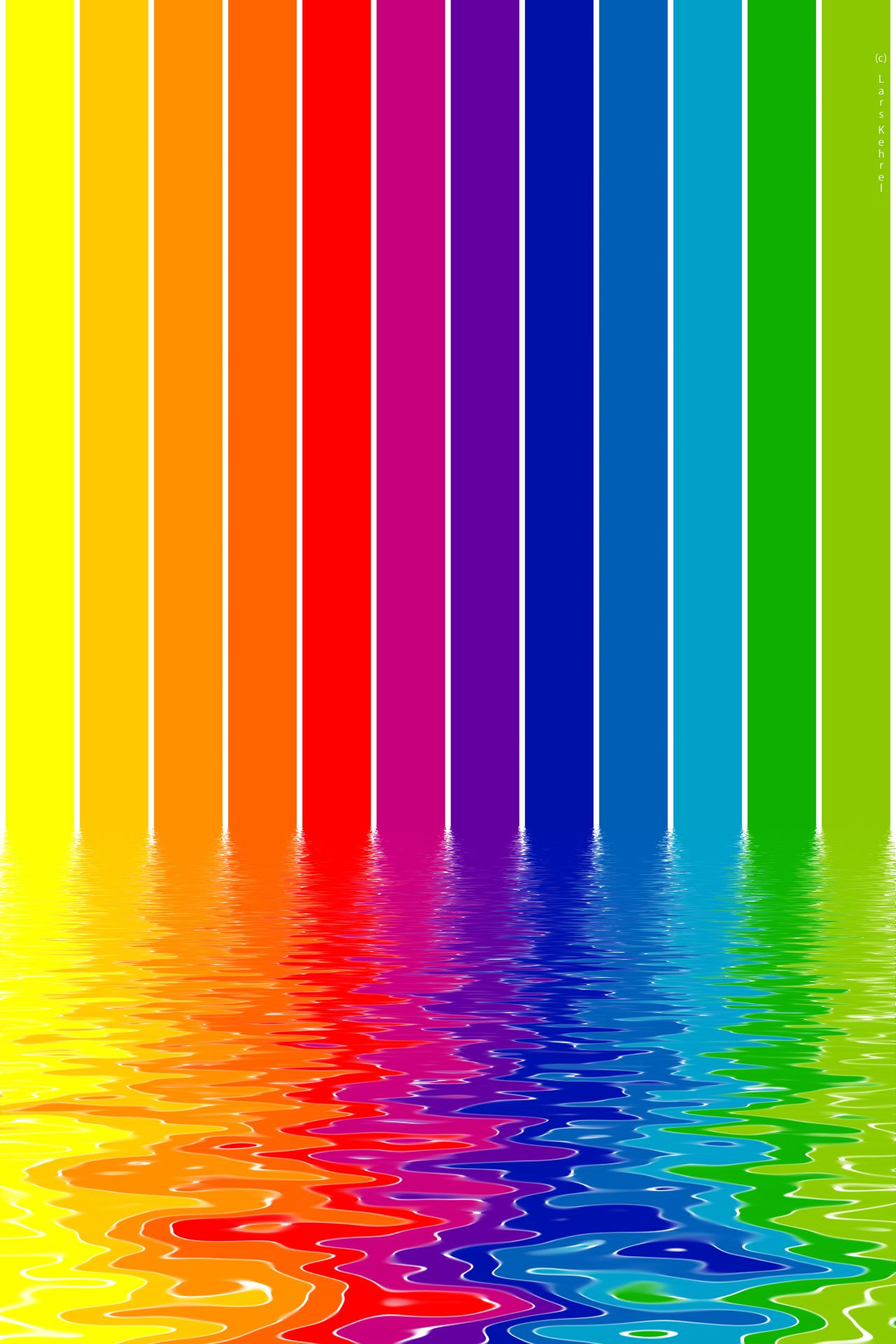 iPhone Wallpaper by Lars Kehrel. A World of Colors
