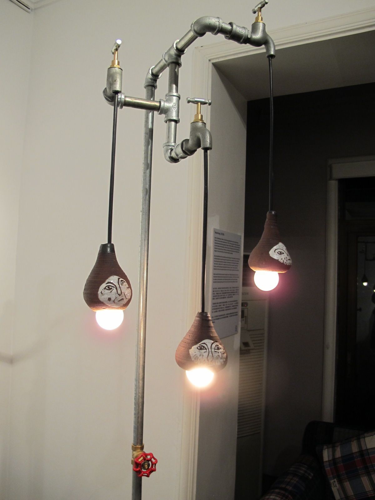 upcycled taps into lamps | Brutcake | Pinterest | Lighting ...