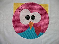 patchcolagem coruja - Pesquisa Google