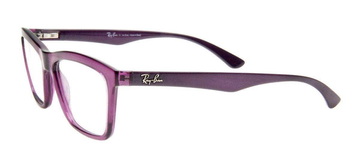 Ray Ban Rb7044l Wayfarer Armacao Roxa Wayfarer Oculos De Grau
