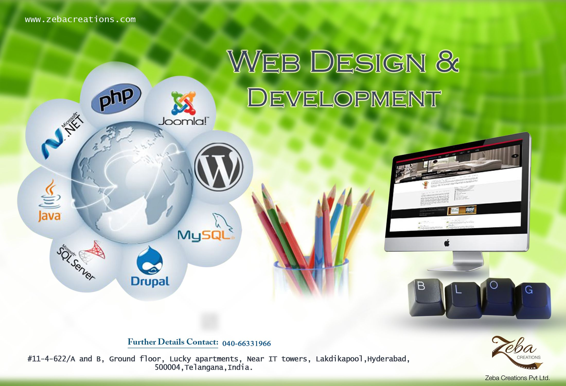Great #Webdesign without #functionality is like a sports car with no #engine. http://www.zebacreations.com