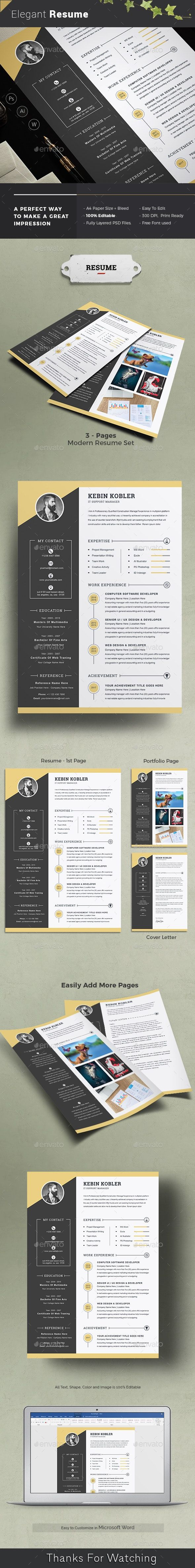 Resume Resumes Stationery Resume, Templates, Graphic