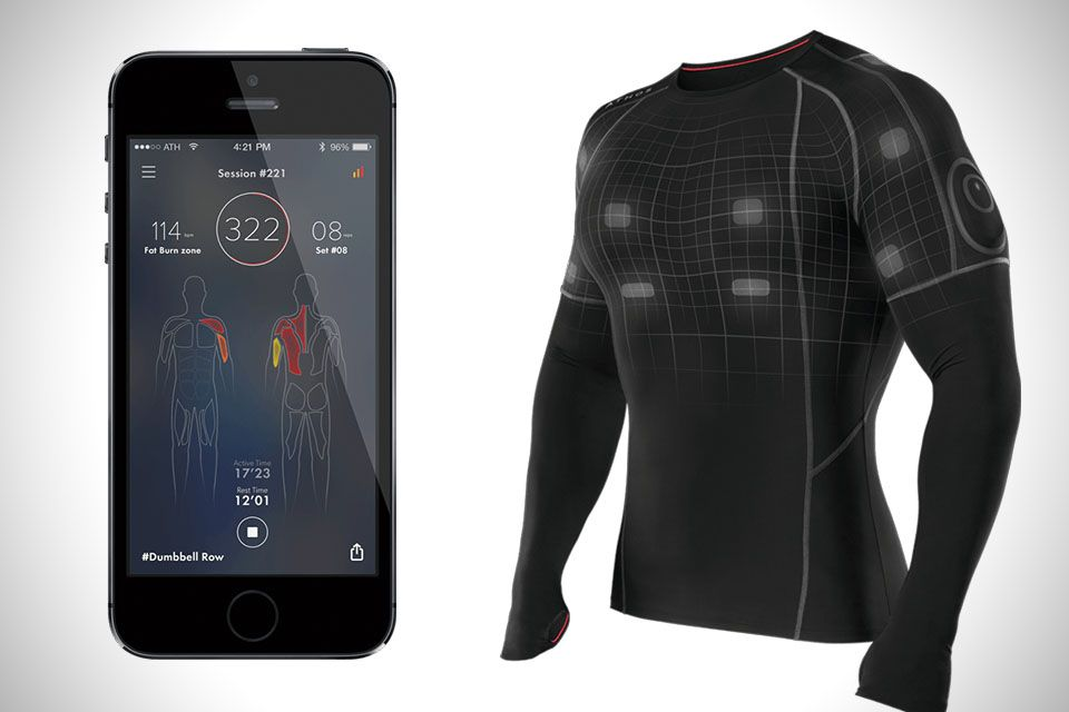 Athos Core: Fitness Tracking Apparel...electromyography ...