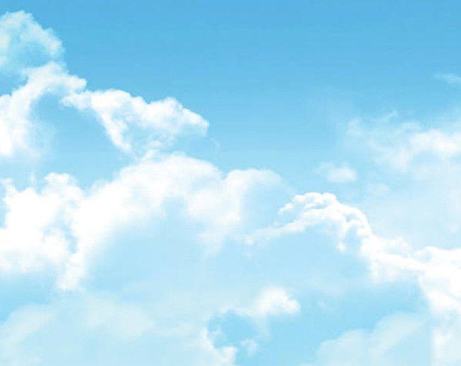 Nubes nubes nubes cielo azul material de antecedentes, Baiyun, Nubes - fondo nubes
