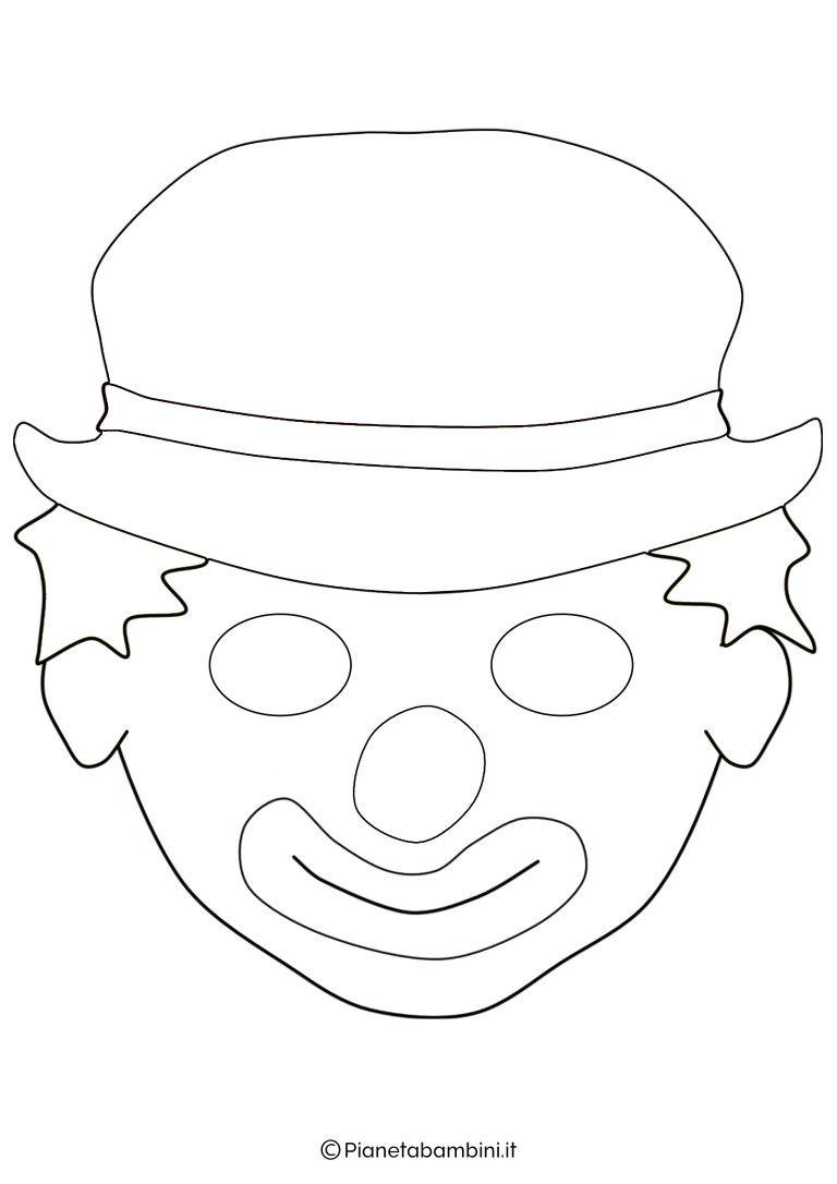 65 Maschere Di Carnevale Da Colorare E Ritagliare Maschere