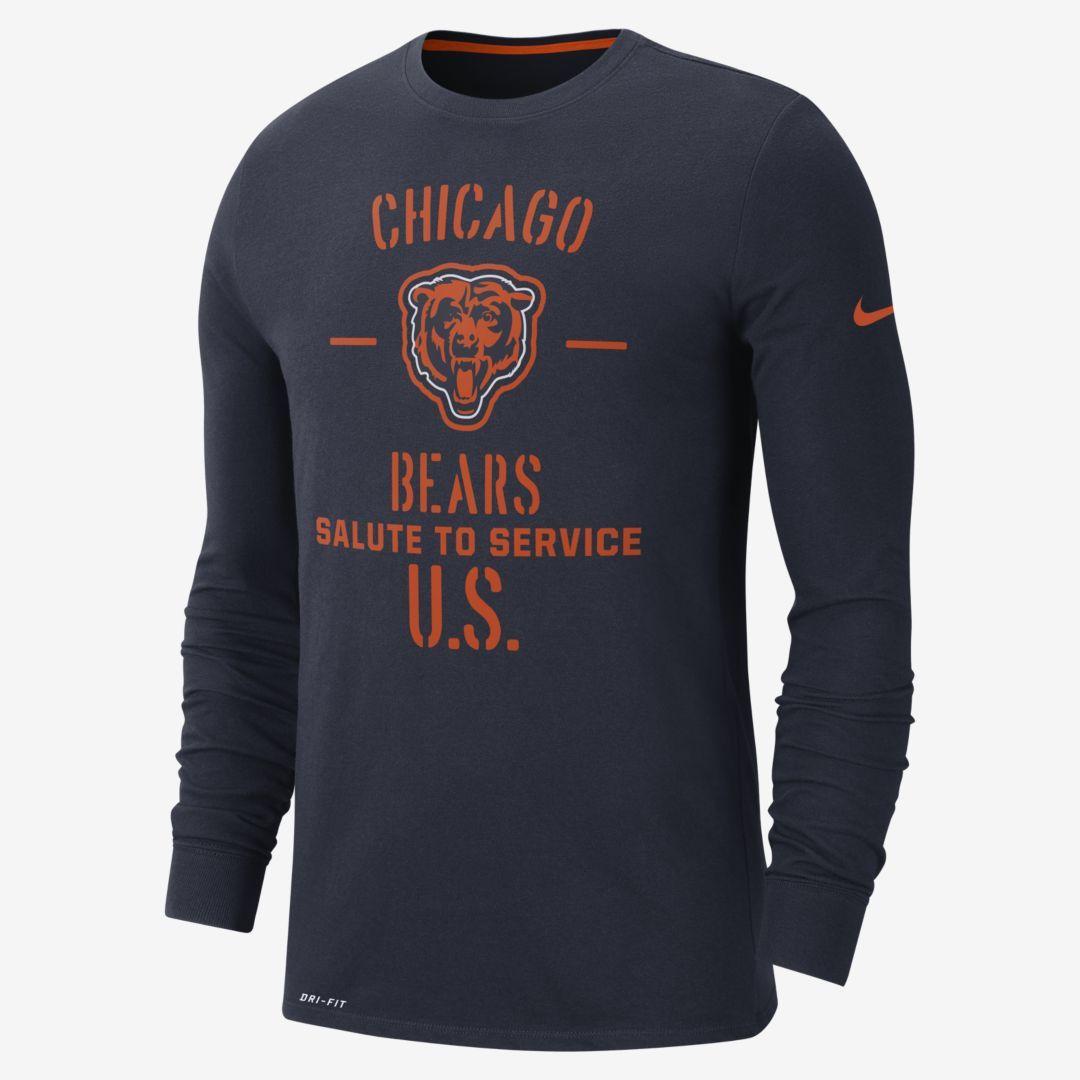 Nike Salute To Service Nfl Cowboys Men S Long Sleeve T Shirt Nike Com Bear Men Long Sleeve Tshirt Men Men S Long Sleeve T Shirt [ 1080 x 1080 Pixel ]