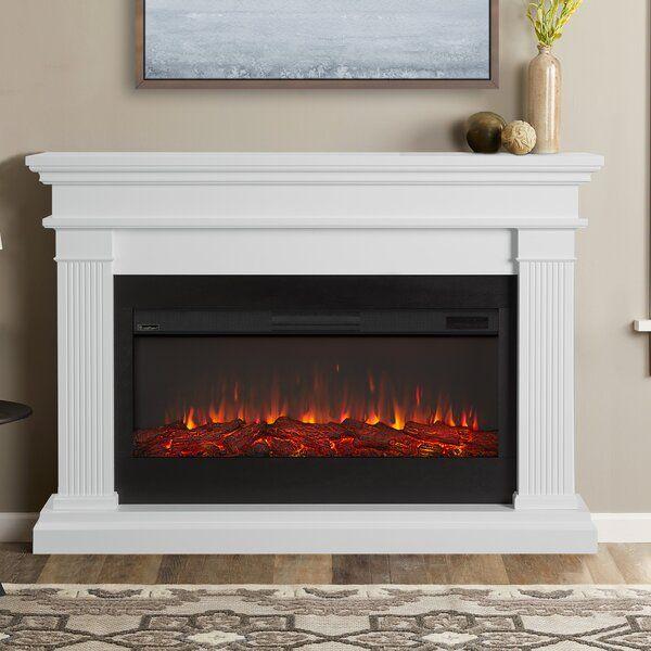 Beau Electric Fireplace En 2020 Chimeneas Organizacion