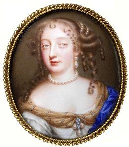 17th century portrait pin