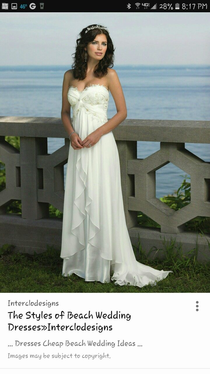Cheap casual wedding dresses  Pin by Kristie Condosta on Wedding Dresses  Pinterest  Wedding