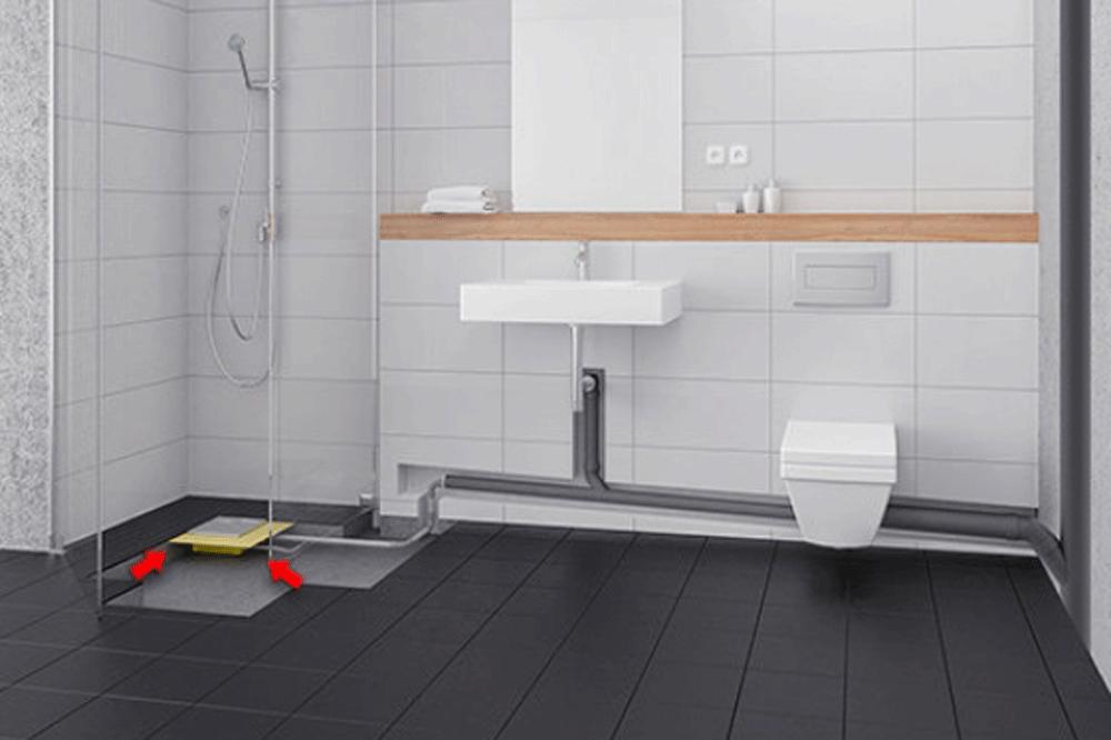Bodengleiche Dusche einbauen Anleitung Handwerk in 2019