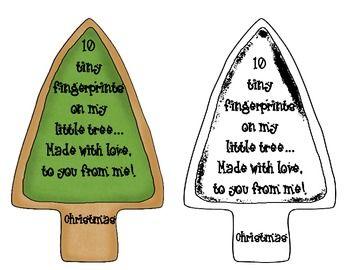 Christmas Craft FREEBIE ~Fingerprint Tree Ornament~ with ...