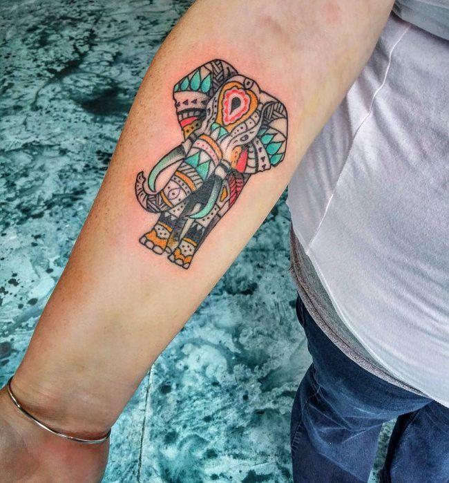 Aliexpress Com Buy India Elephant God Tattoos Cool: 200+ Elephant Tattoos Inspirations, Meanings [2017