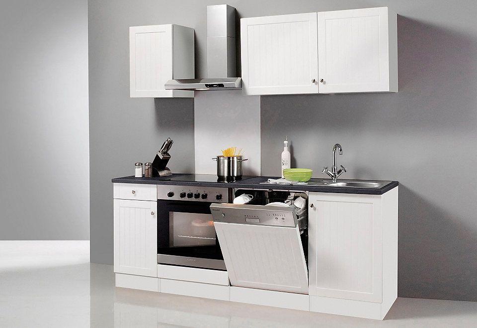 Küchenzeile ohne E-Geräte, OPTIFIT, »Odense«, Breite 270 cm Odense - küchenzeile 220 cm mit elektrogeräten