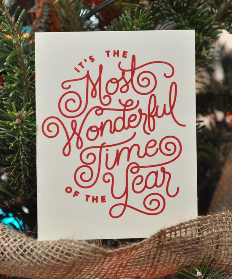 Most Wonderful Card