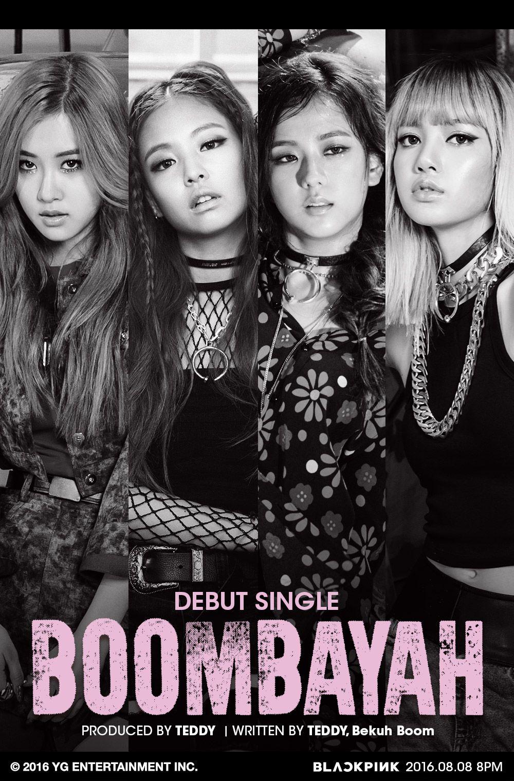 Blackpink Boombayah K Pop Blackpink Generacion Girls Y Rosas