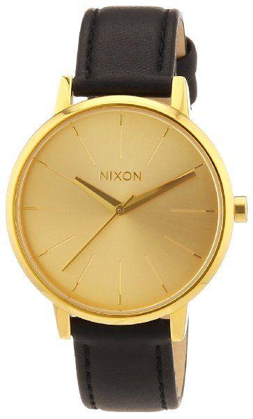 Nixon Damen-Armbanduhr Analog Leder A108501-00:Amazon.de:Uhren