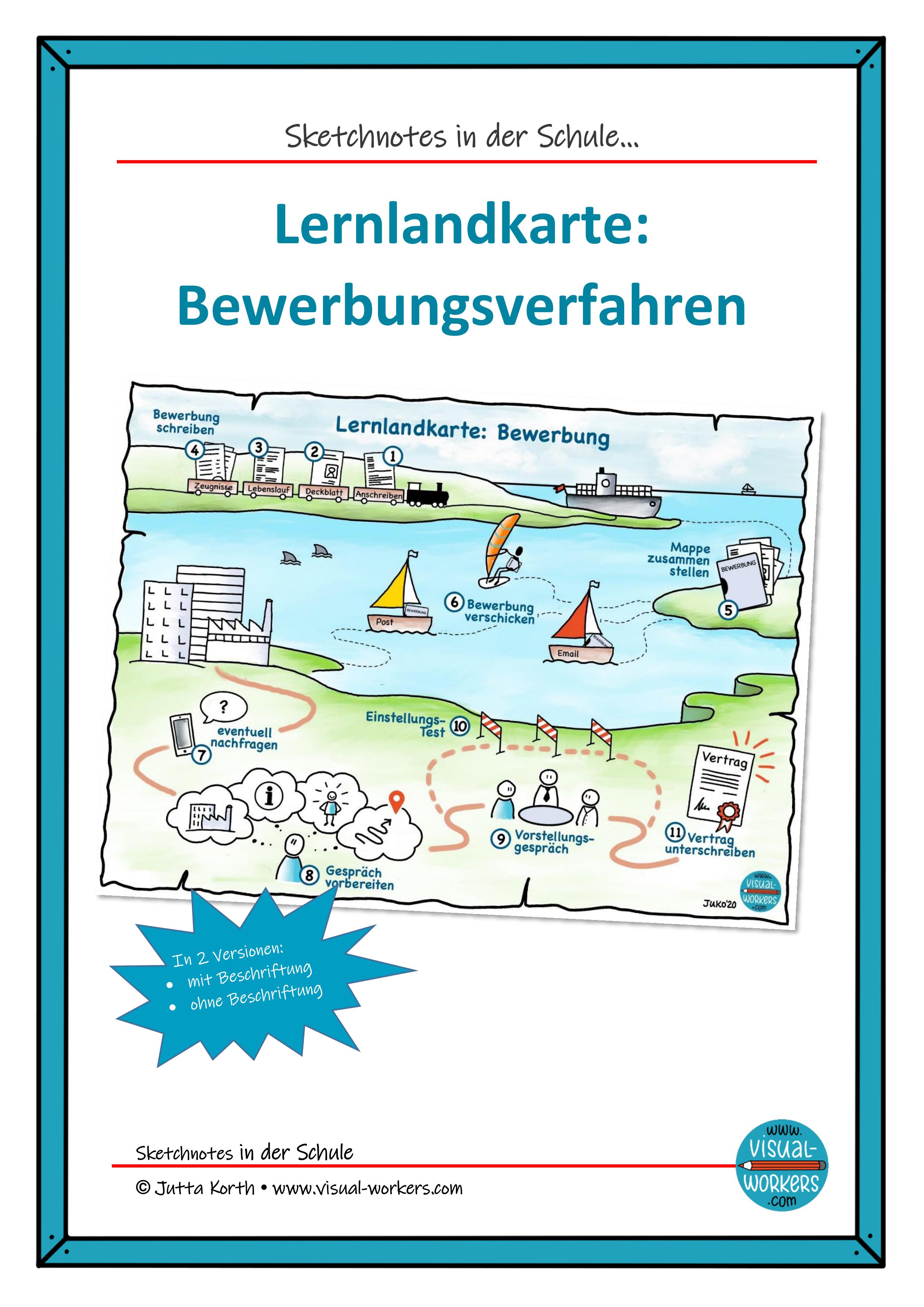 Lernlandkarte Bewerbungsverfahren Unterrichtsmaterial In Den Fachern Arbeitslehre Deutsch In 2020 Lernlandkarte Lernen Deutsch Unterricht