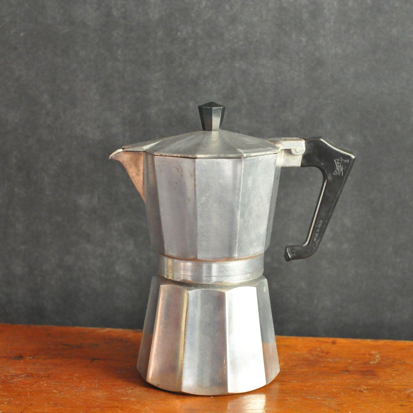 Vintage Italian Stovetop Coffee Espresso Maker Pezzeti