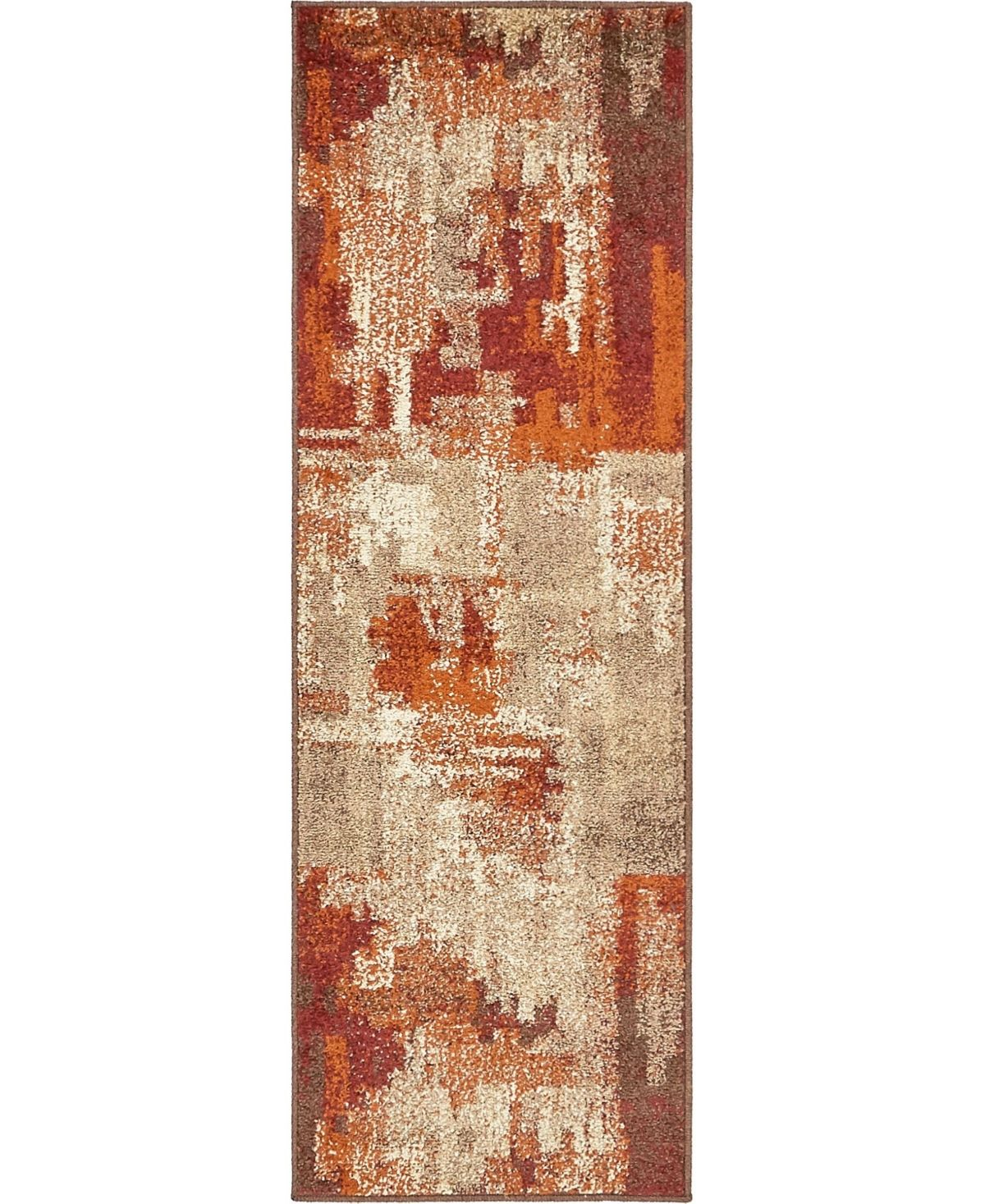 This rug is made of Polypropylene. Pile Height:1/2
