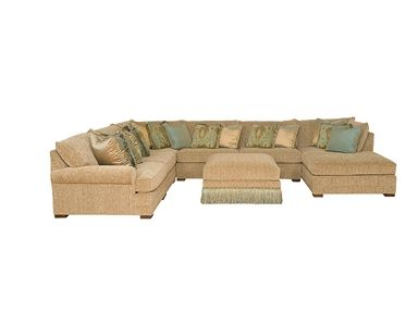 Shop For King Hickory Casbah Fabric Sectional 1100 Sect