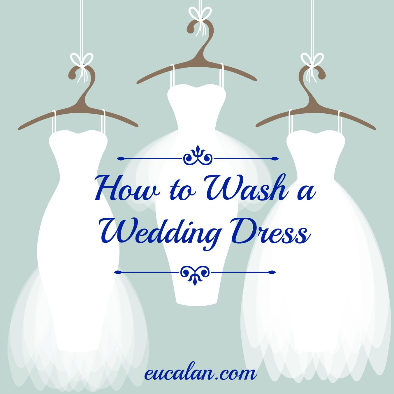 Wedding Gown Cleaning And Preservation Cost: How To Wash A Wedding Dress: Tutorial