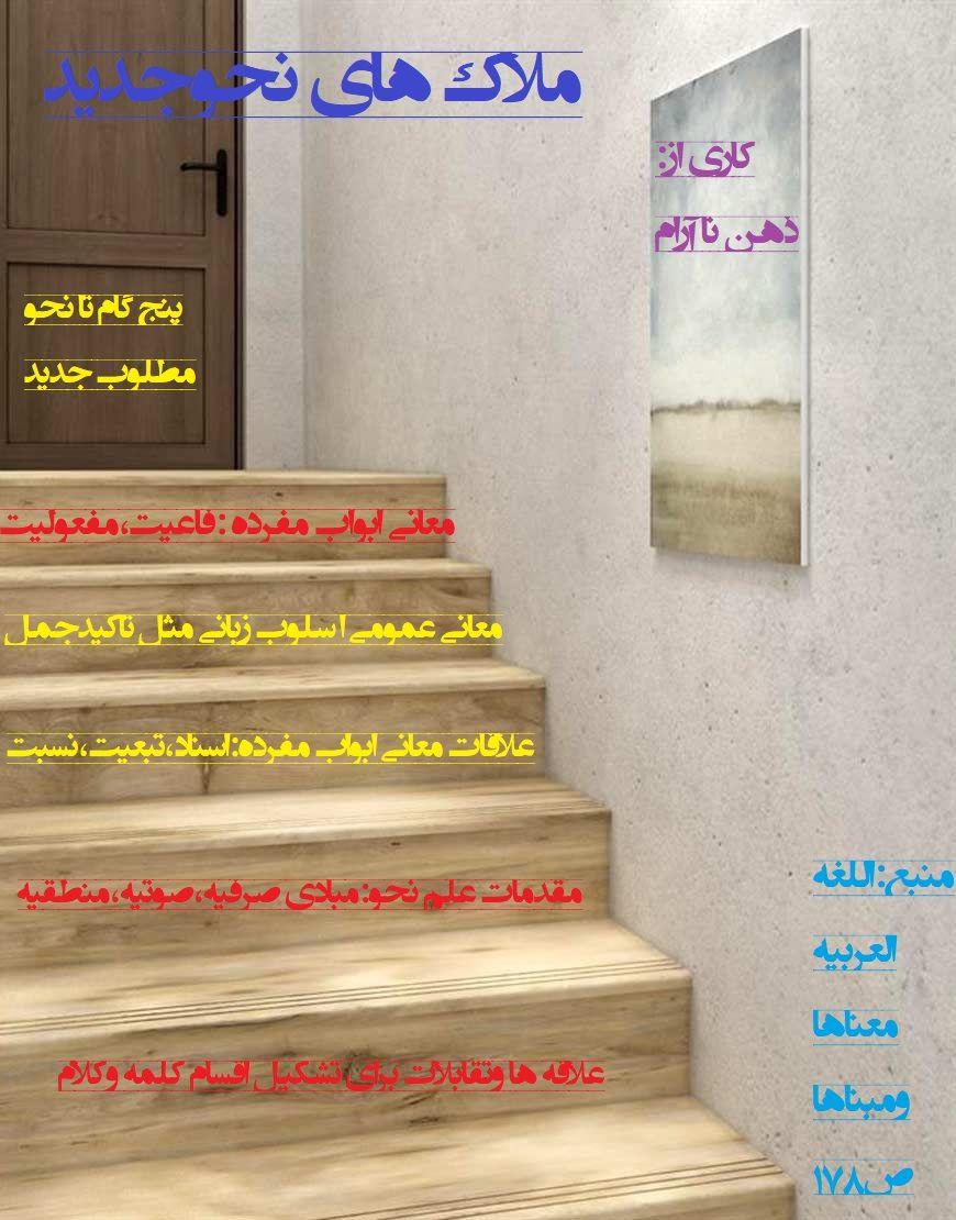 پنج پله برای رسیدن به ملاکات نحو جدید اثر تمام حسن طراحی علیرضا زارعی راهبرد Home Decor Decor Home