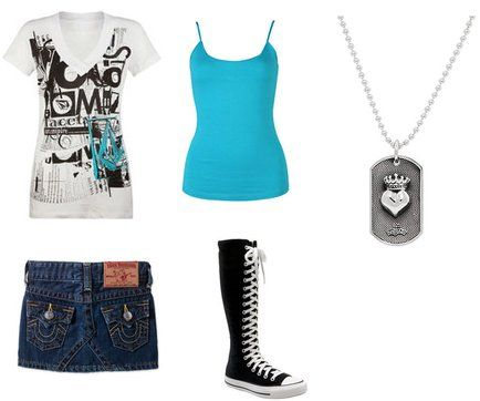 Outfits for Teenage Girls | Filed in: Teen Girl Clothes | glamour ...