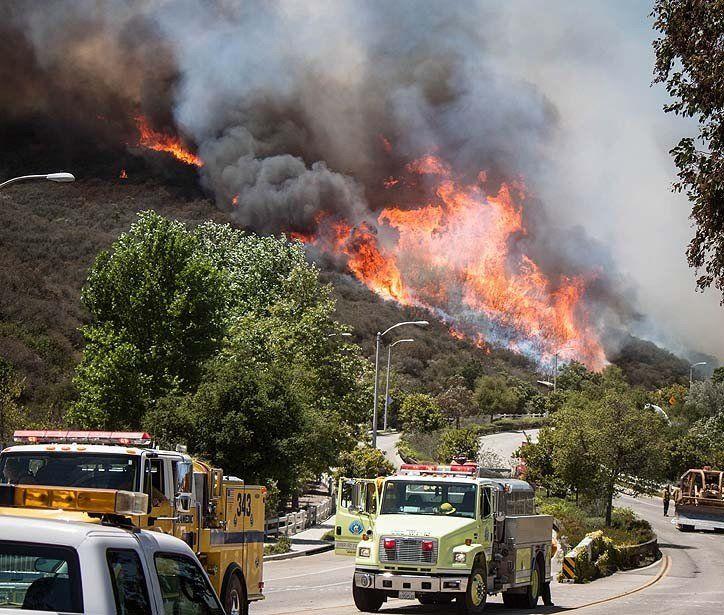 La Times Wild Fire Fire Wonders Of The World