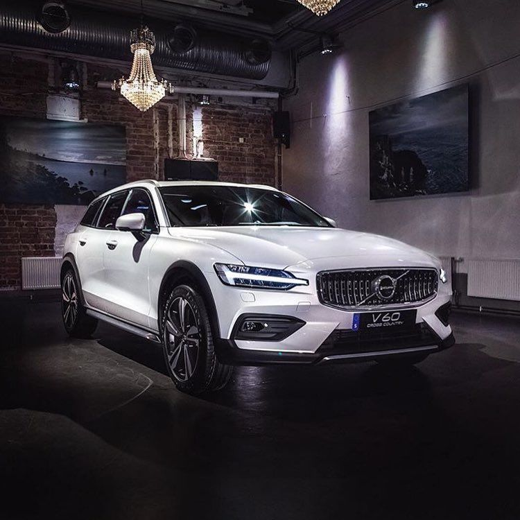 Yesterday The World Was Introduced To The New V60 Cross Country In Stockholm Volvo Cars Volvo Volvo Wagon