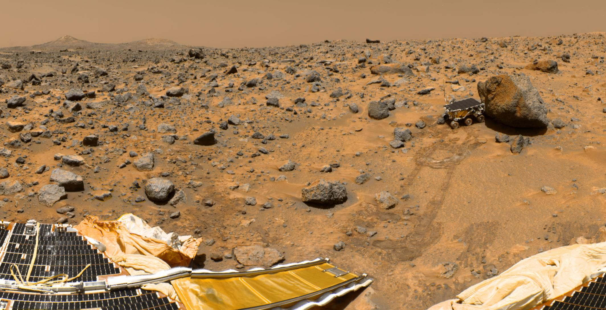 Real Pictures Of Mars Surface